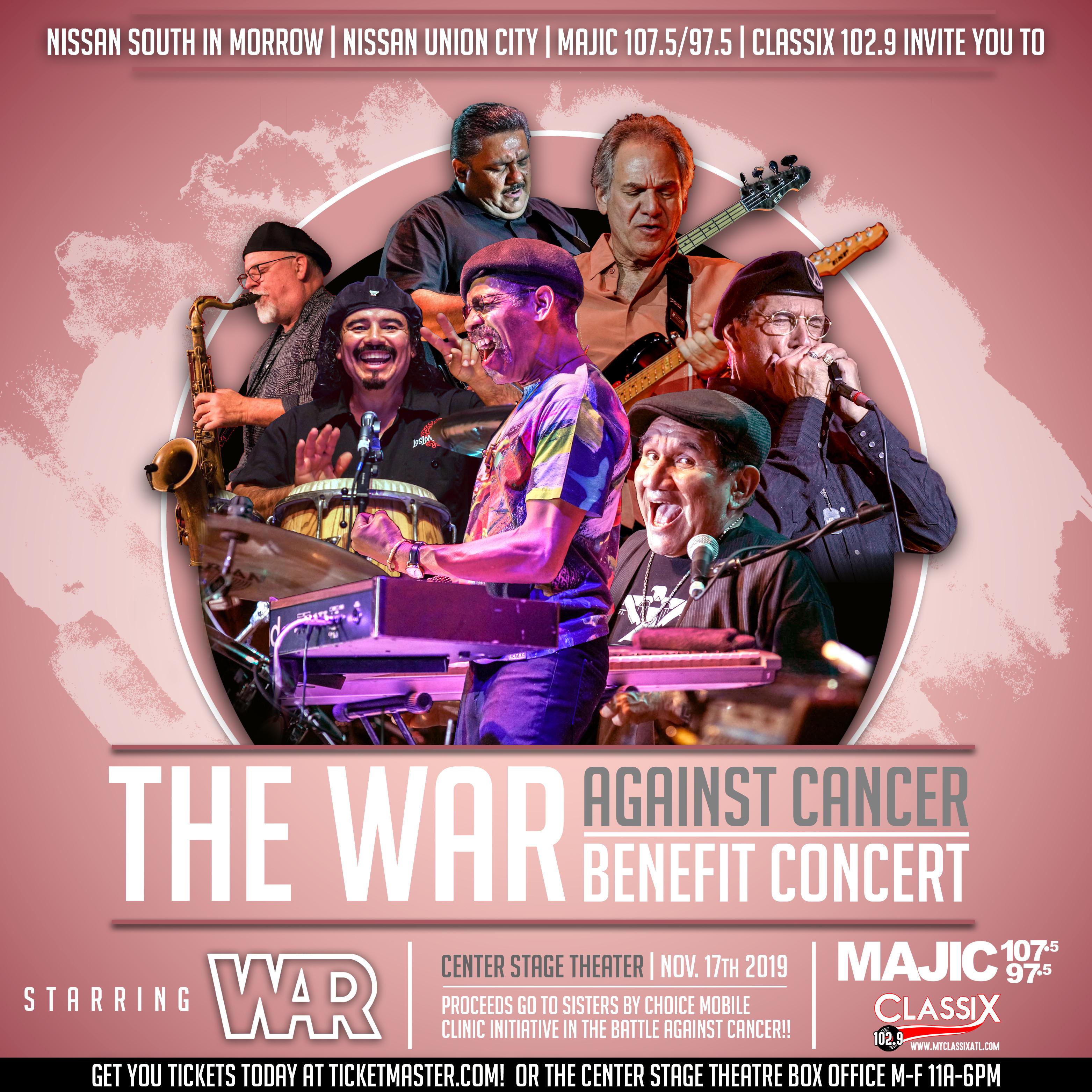 War Against Cancer Benefit Concert