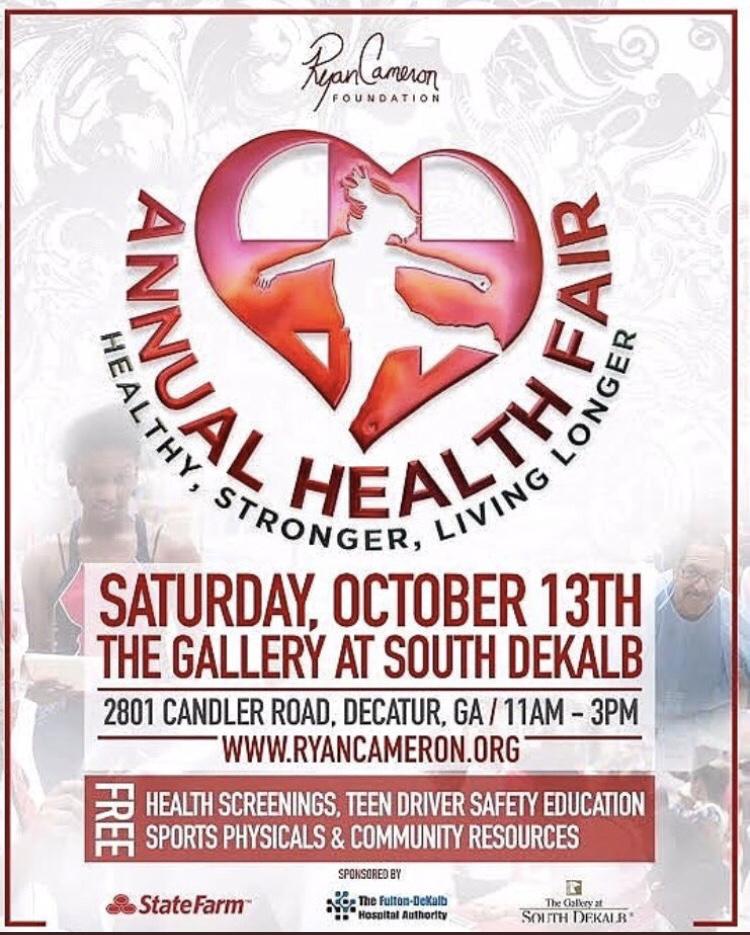 Ryan Cameron Annual Health Fair