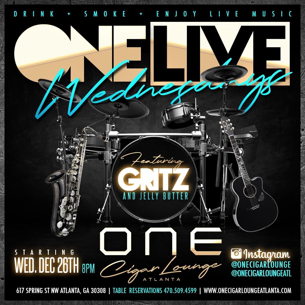 One Cigar Lounge Atlanta: One Live Wednesdays