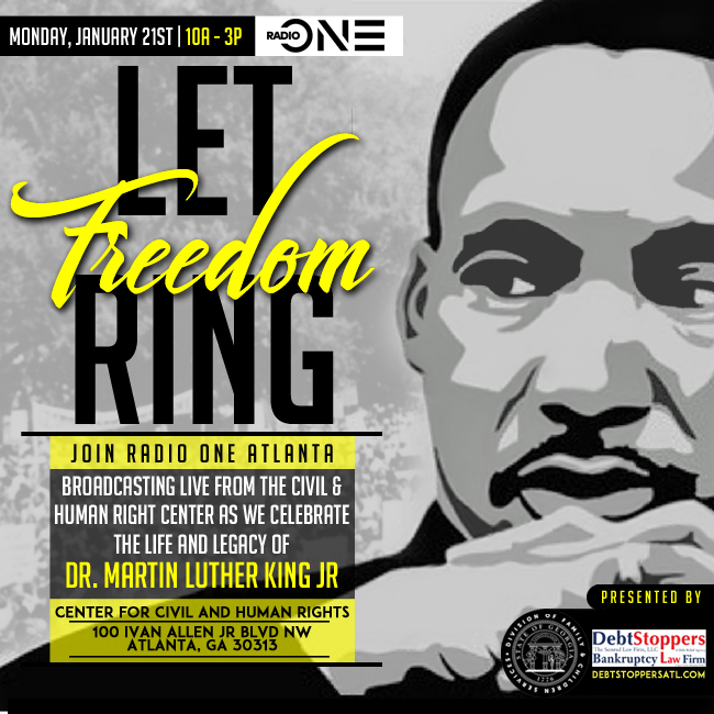 Radio One Atlanta MLK Broadcast