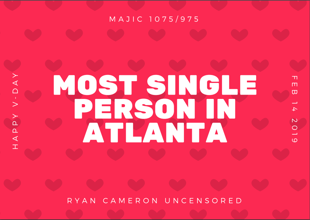 Most Single Person In Atlanta