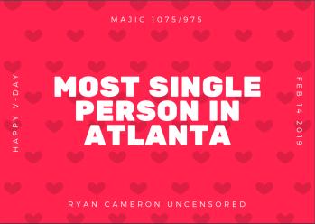 Most Single Person In Atlanta