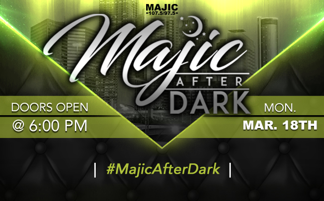 MAJIC After Dark- March 2019
