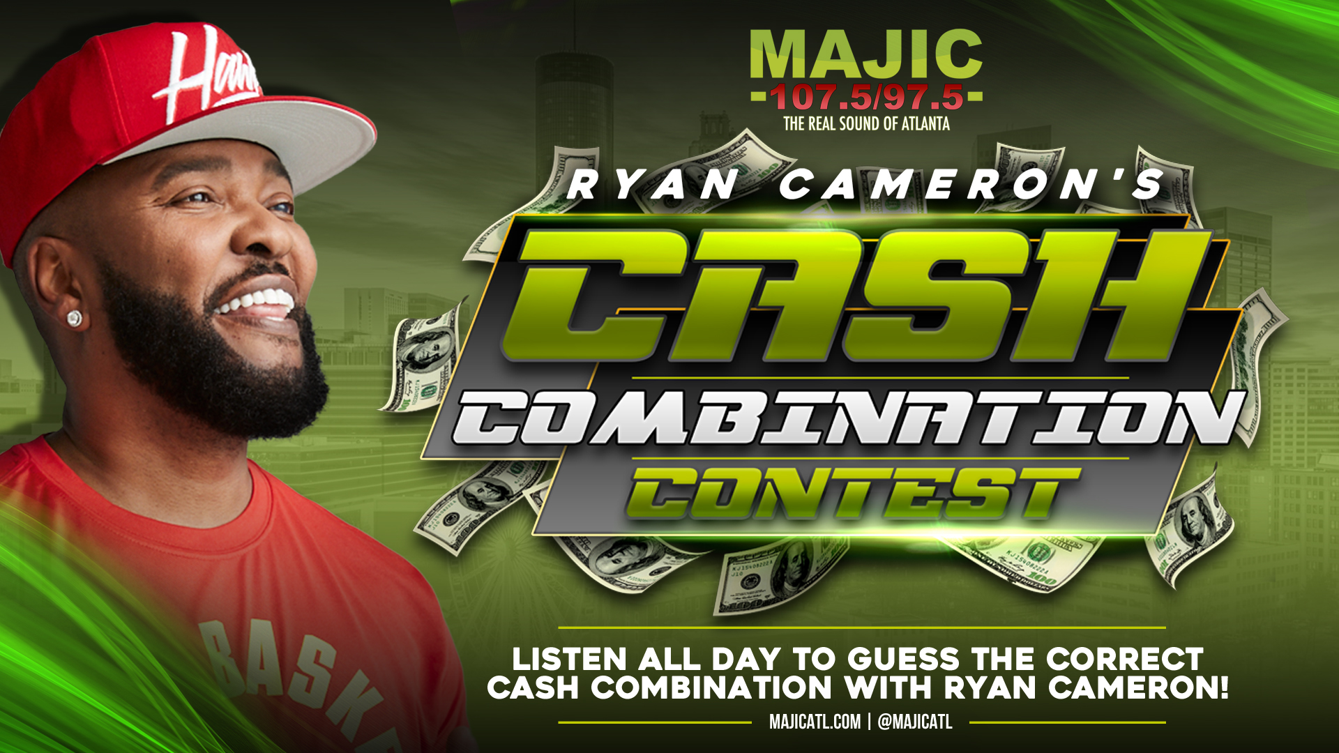 Ryan Cameron Cash Contest