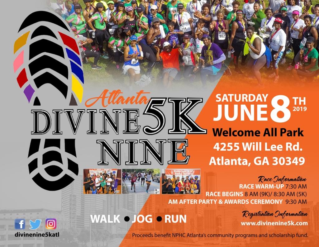 Divine Nine 5K