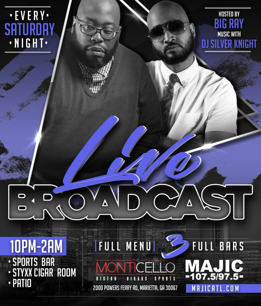 The Monticello: Live Broadcast With Big Ray & DJ Silver Knight