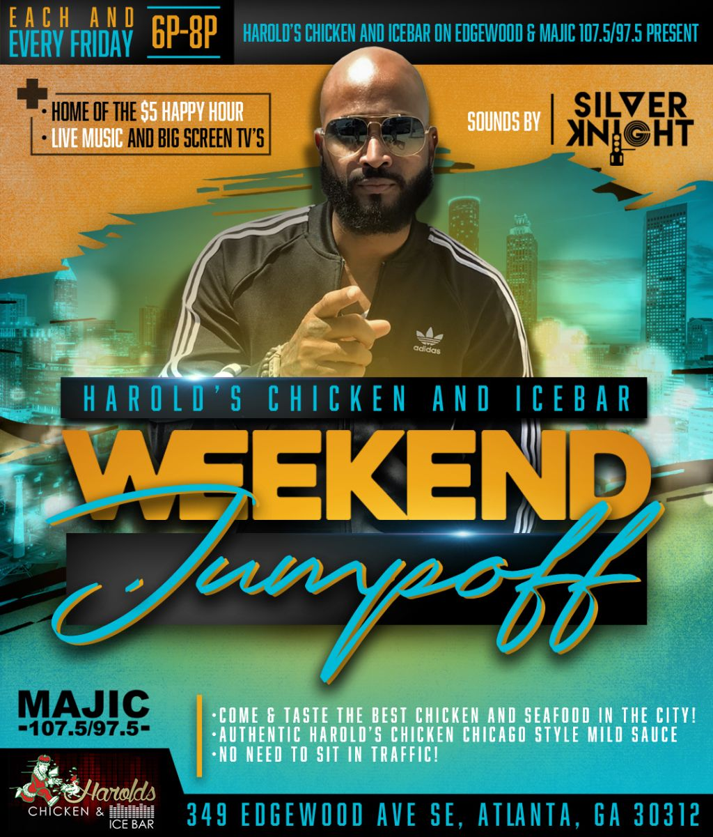 Harolds' Chicken & Icebar: Weekend Jumpoff With Silver Knight